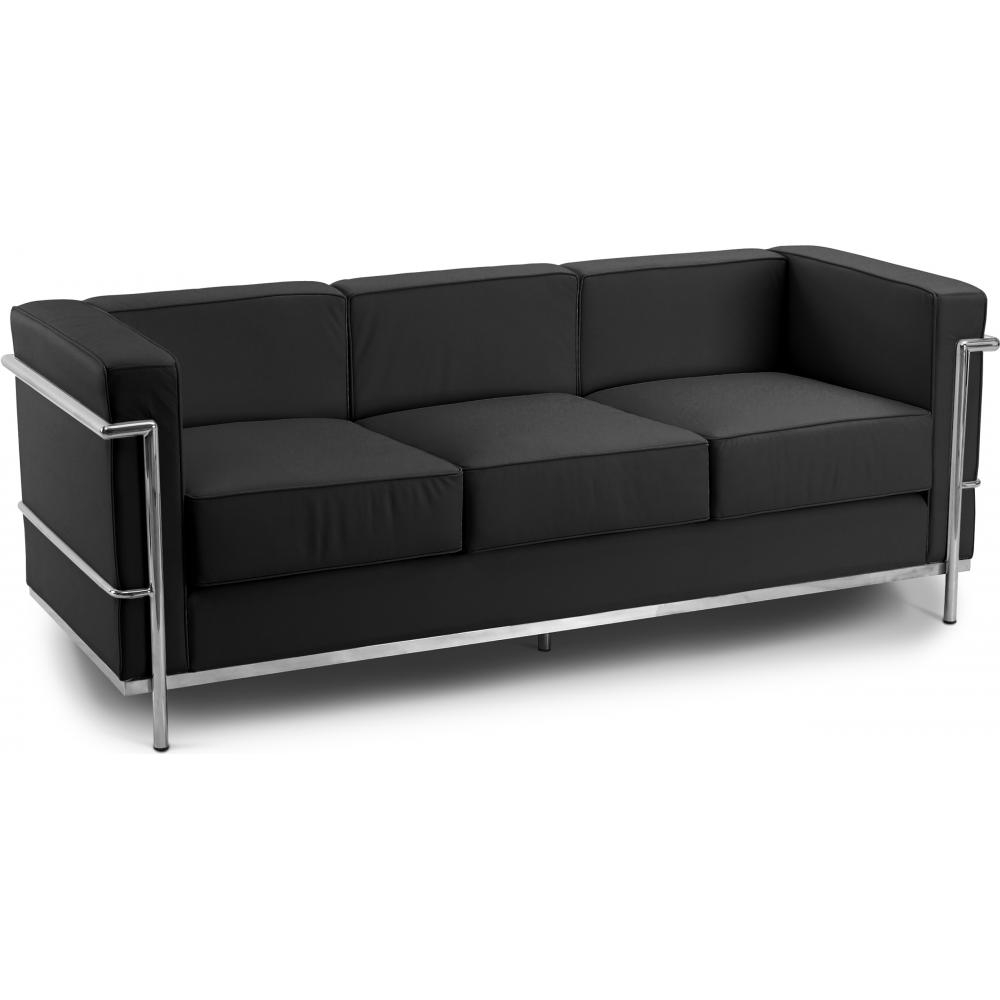 canape cuir le corbusier maison design. Black Bedroom Furniture Sets. Home Design Ideas