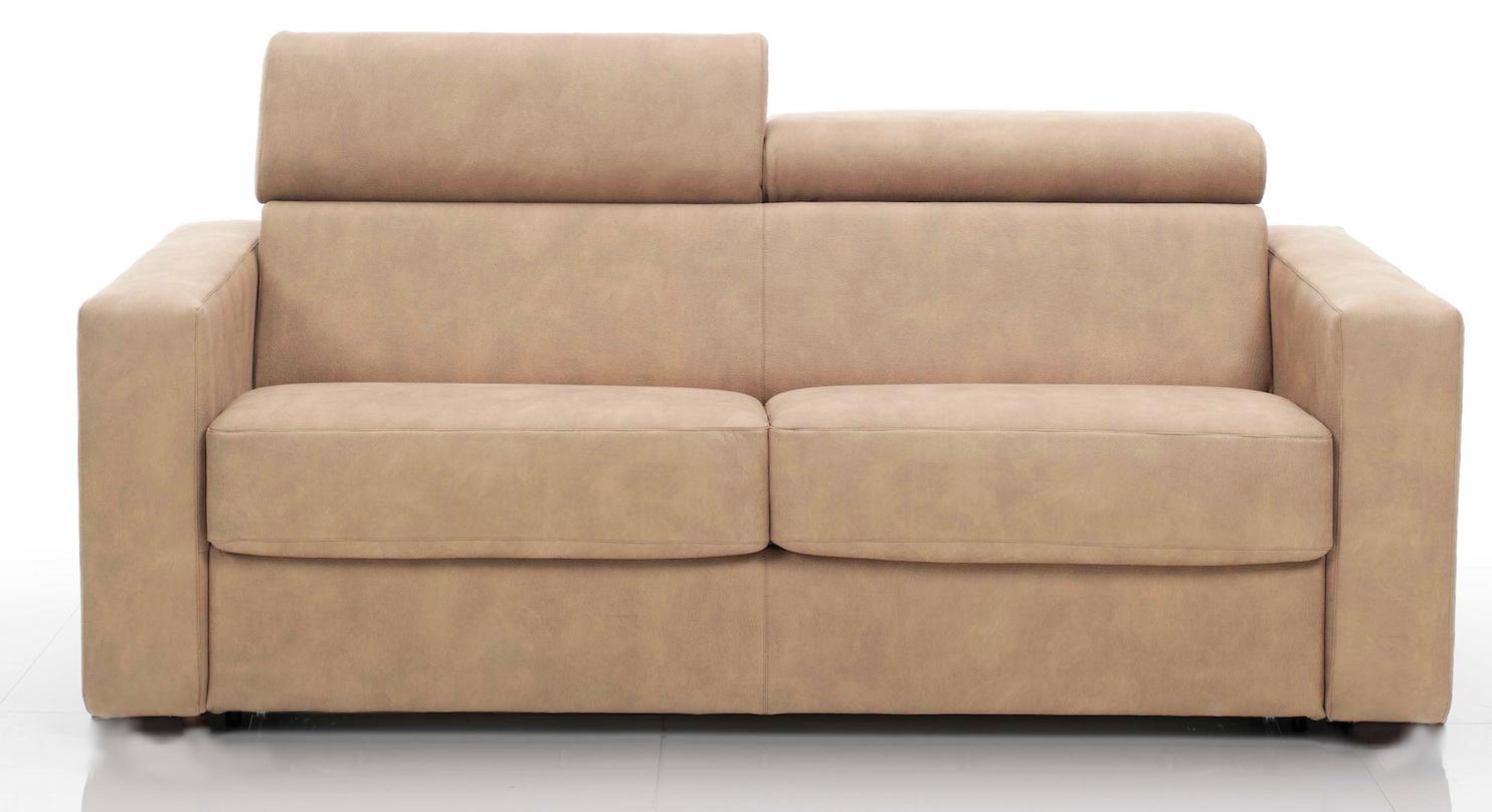 canap rapido avec t ti res rev tement tissu beige lova mod le 2 places. Black Bedroom Furniture Sets. Home Design Ideas