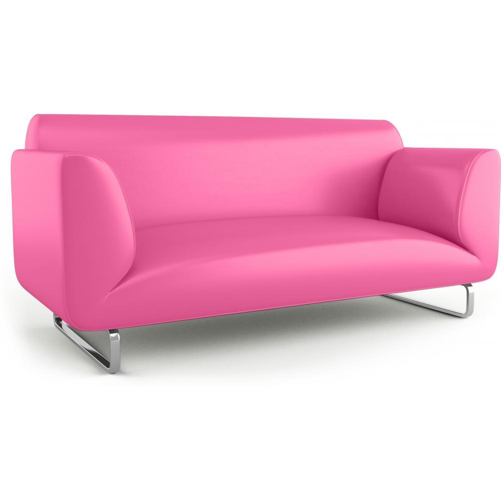 canap 2 places simili cuir fuchsia elite. Black Bedroom Furniture Sets. Home Design Ideas