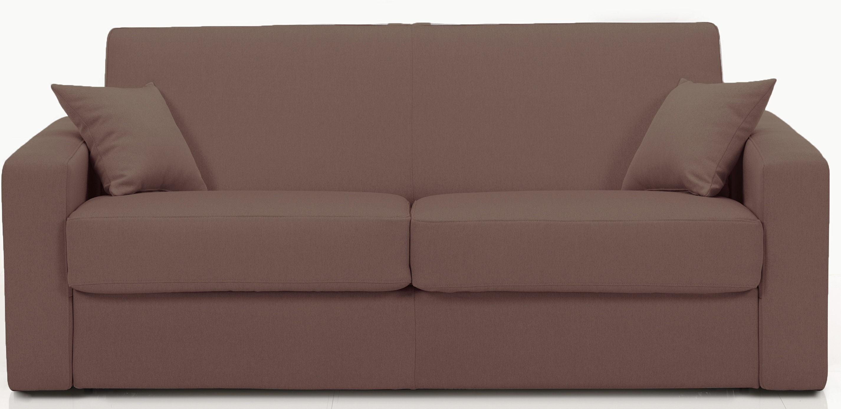 canap convertible rev tement microfibre marron stener mod le 1 place. Black Bedroom Furniture Sets. Home Design Ideas