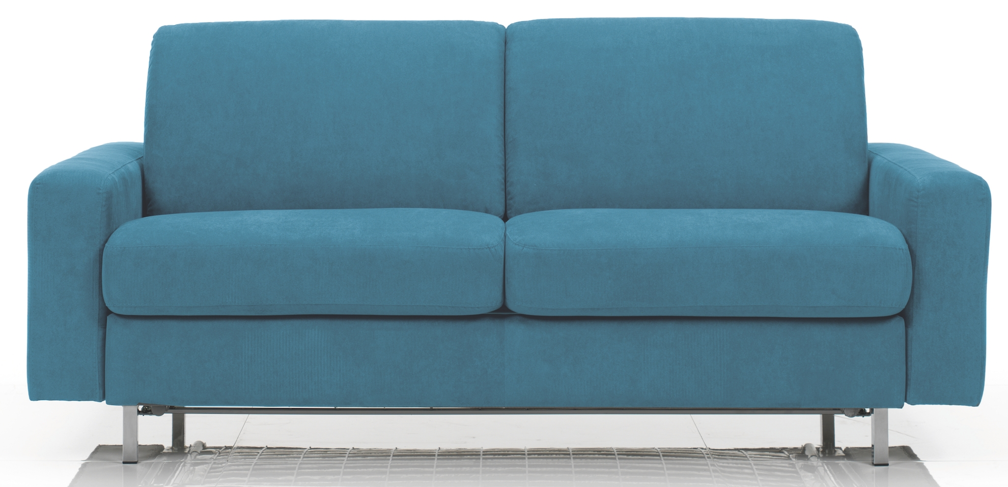 canap convertible rev tement microfibre bleu katus mod le 2 places. Black Bedroom Furniture Sets. Home Design Ideas