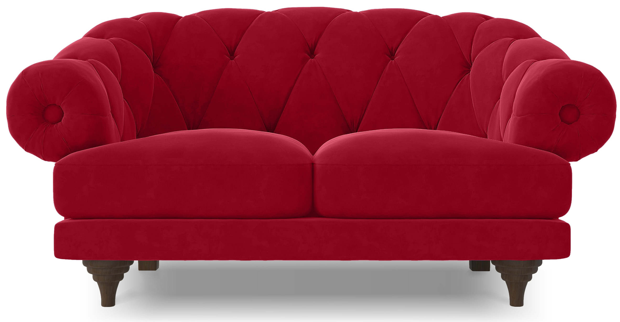 canap ultra confortable velours rouge chesterfield. Black Bedroom Furniture Sets. Home Design Ideas