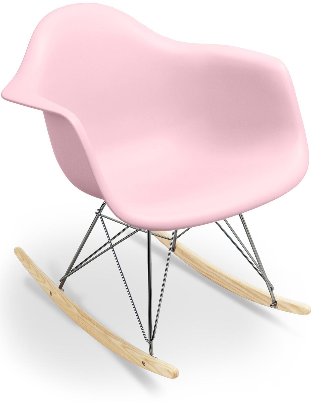 chaise bascule bak lite rose pastel mat wendy lot de 4. Black Bedroom Furniture Sets. Home Design Ideas