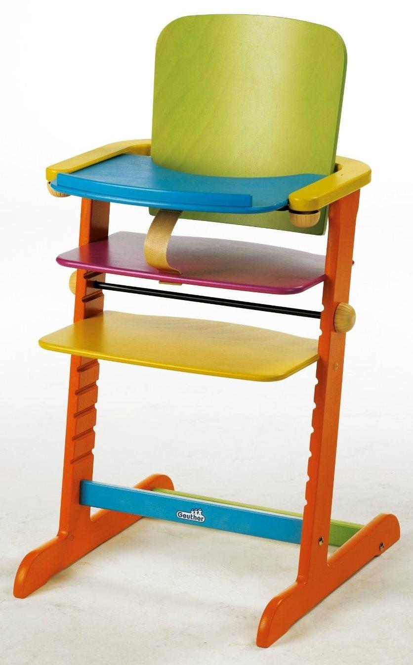Chaise bois massif multicolore family for Chaise multicolore