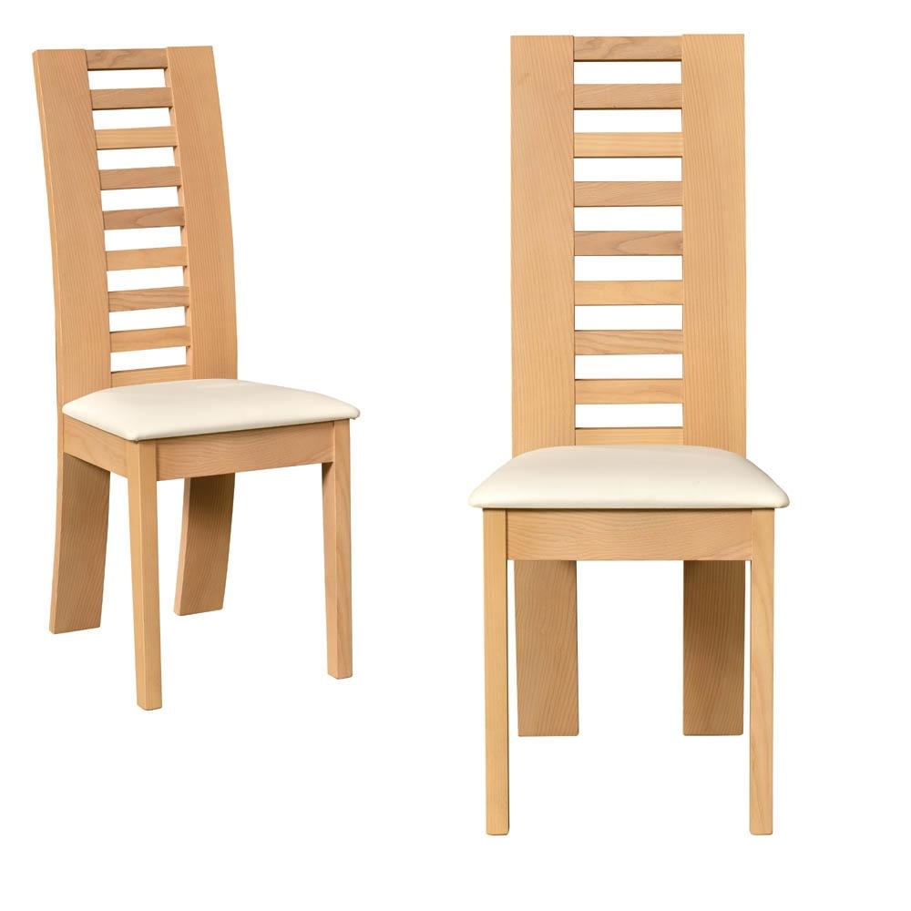 chaise chene interesting chaise chene clair luxury chaise en chne massif de style louis. Black Bedroom Furniture Sets. Home Design Ideas