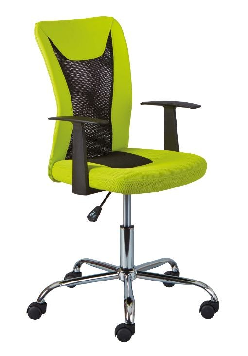 Et Chaise Roll Réglable Noir Simili Cuir Bureau De Vert gy6Yb7fv