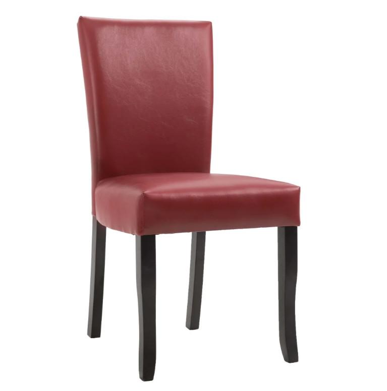 Octane - Chaise de salle à manger simili cuir daim ...