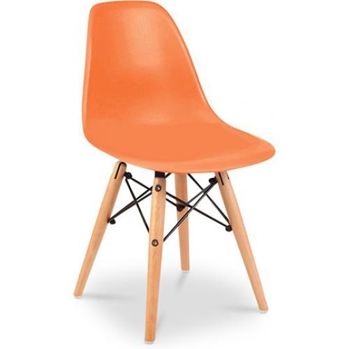 chaise enfant orange moggy. Black Bedroom Furniture Sets. Home Design Ideas