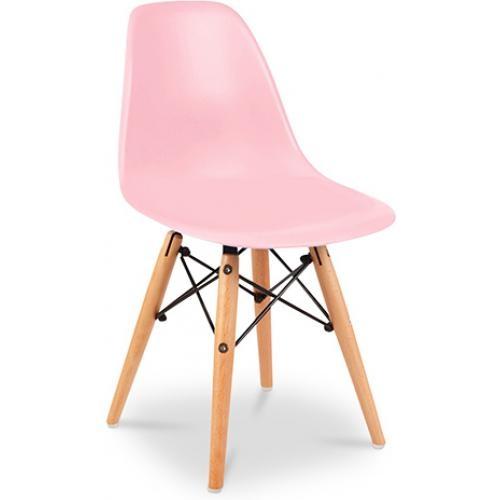 chaise enfant rose moggy. Black Bedroom Furniture Sets. Home Design Ideas