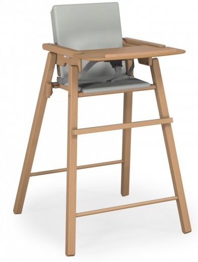 chaise haute pliante h tre naturel atelier t4. Black Bedroom Furniture Sets. Home Design Ideas