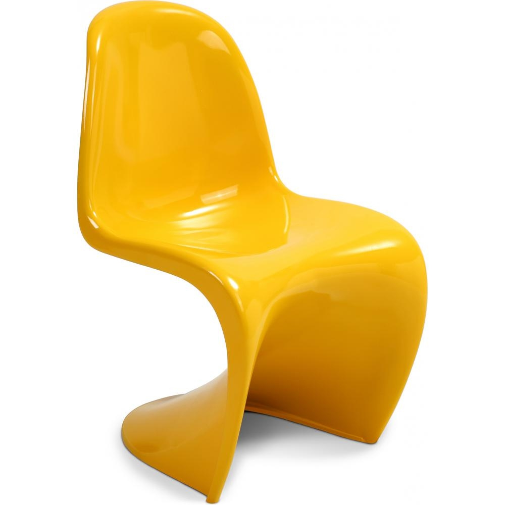 Chaise panton bakelite brillante for Chaise panton