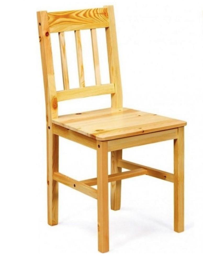 chaise pin massif naturel tosca lot de 2. Black Bedroom Furniture Sets. Home Design Ideas