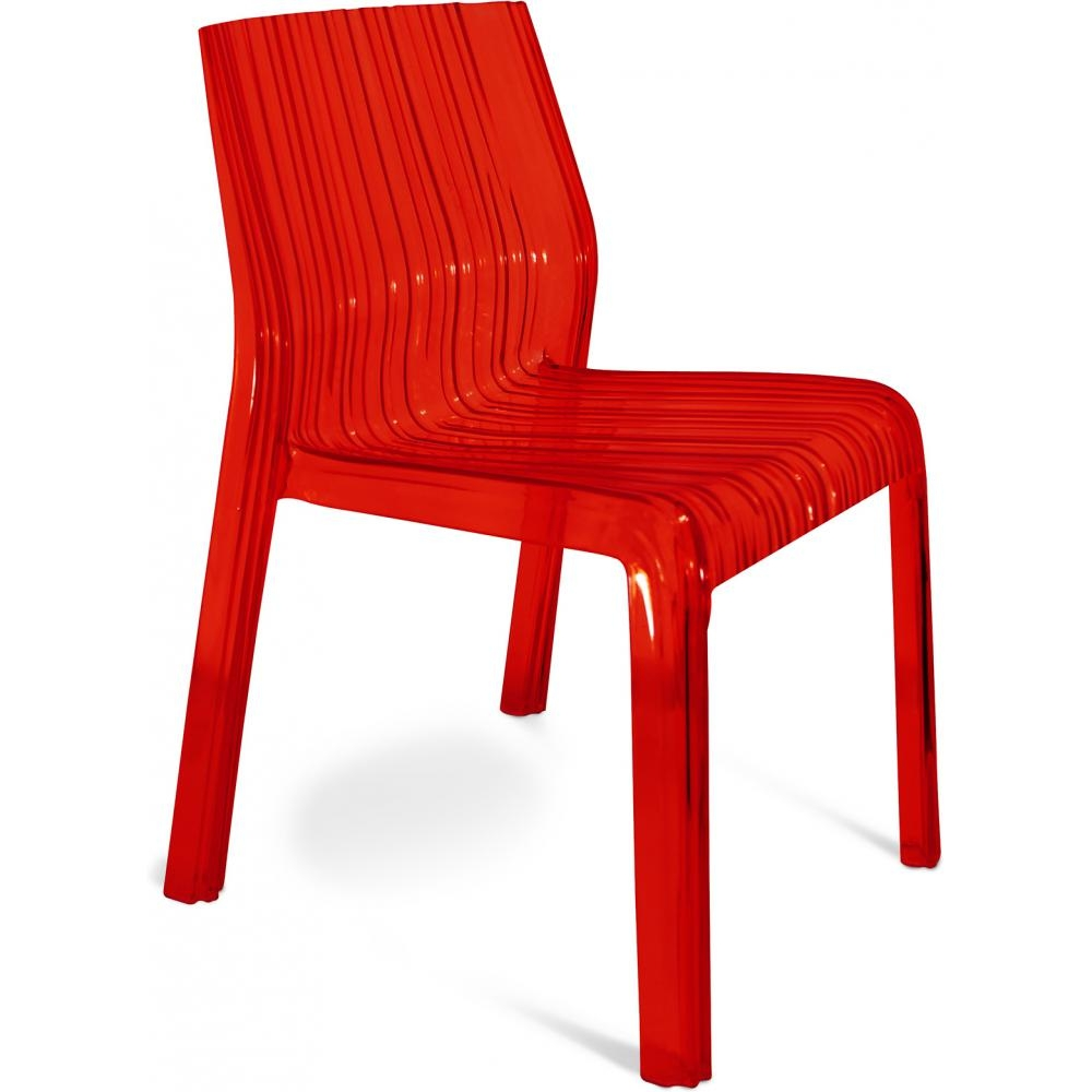 chaise rouge cindy inspir e patricia urquiola. Black Bedroom Furniture Sets. Home Design Ideas