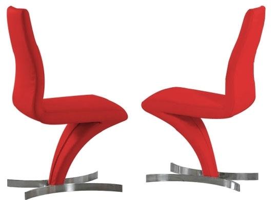 Chaise Design Rouge Signus