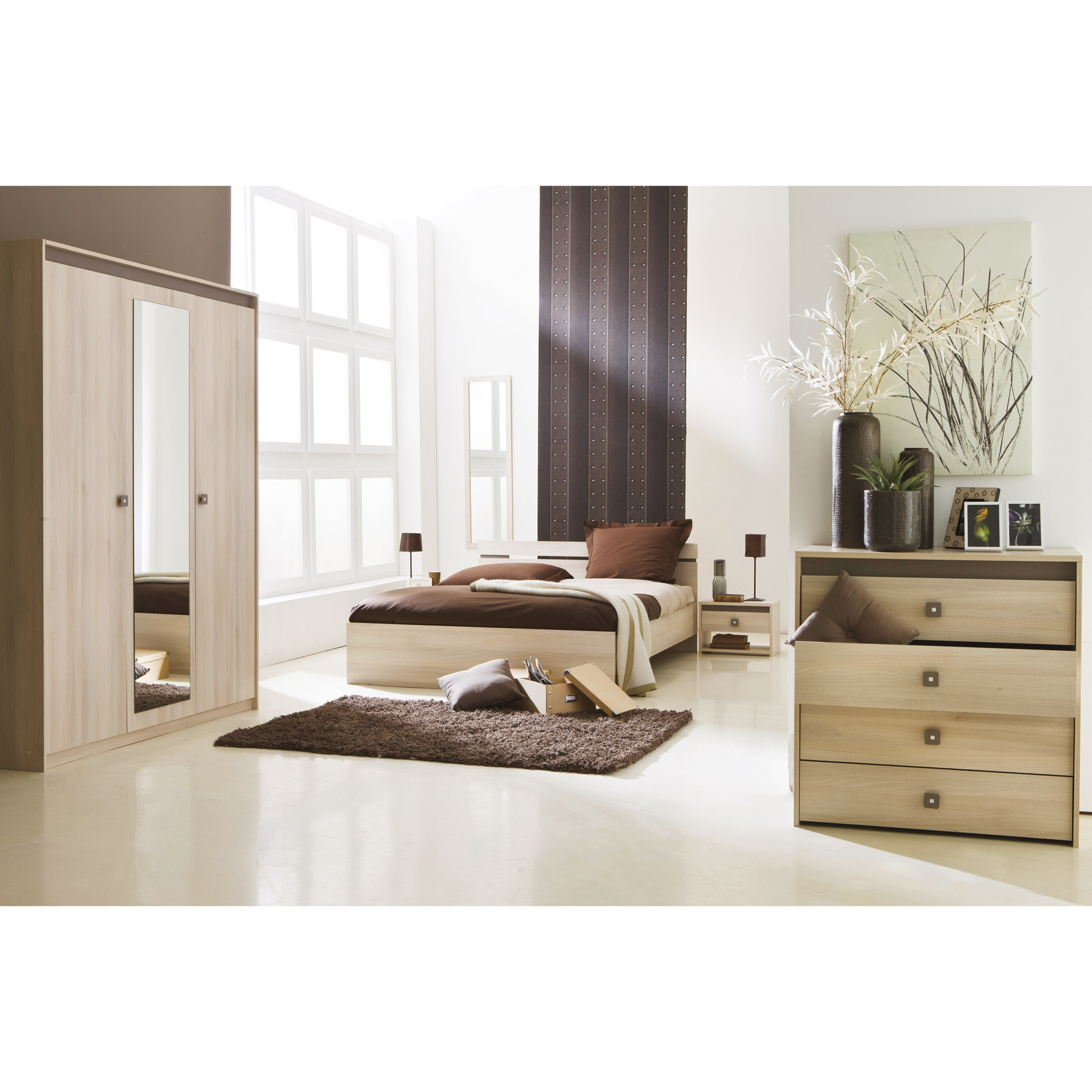 Chambre coucher francesca for Commande chambre a coucher