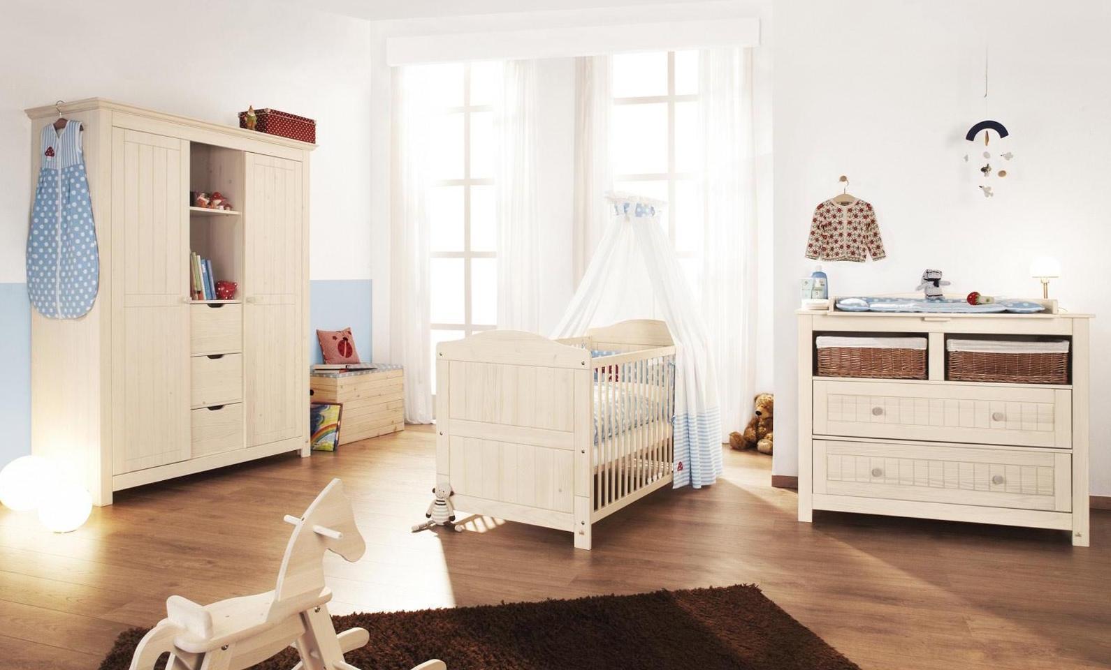 Chambre bébé bois massif d'épicéa finja   lestendances.fr