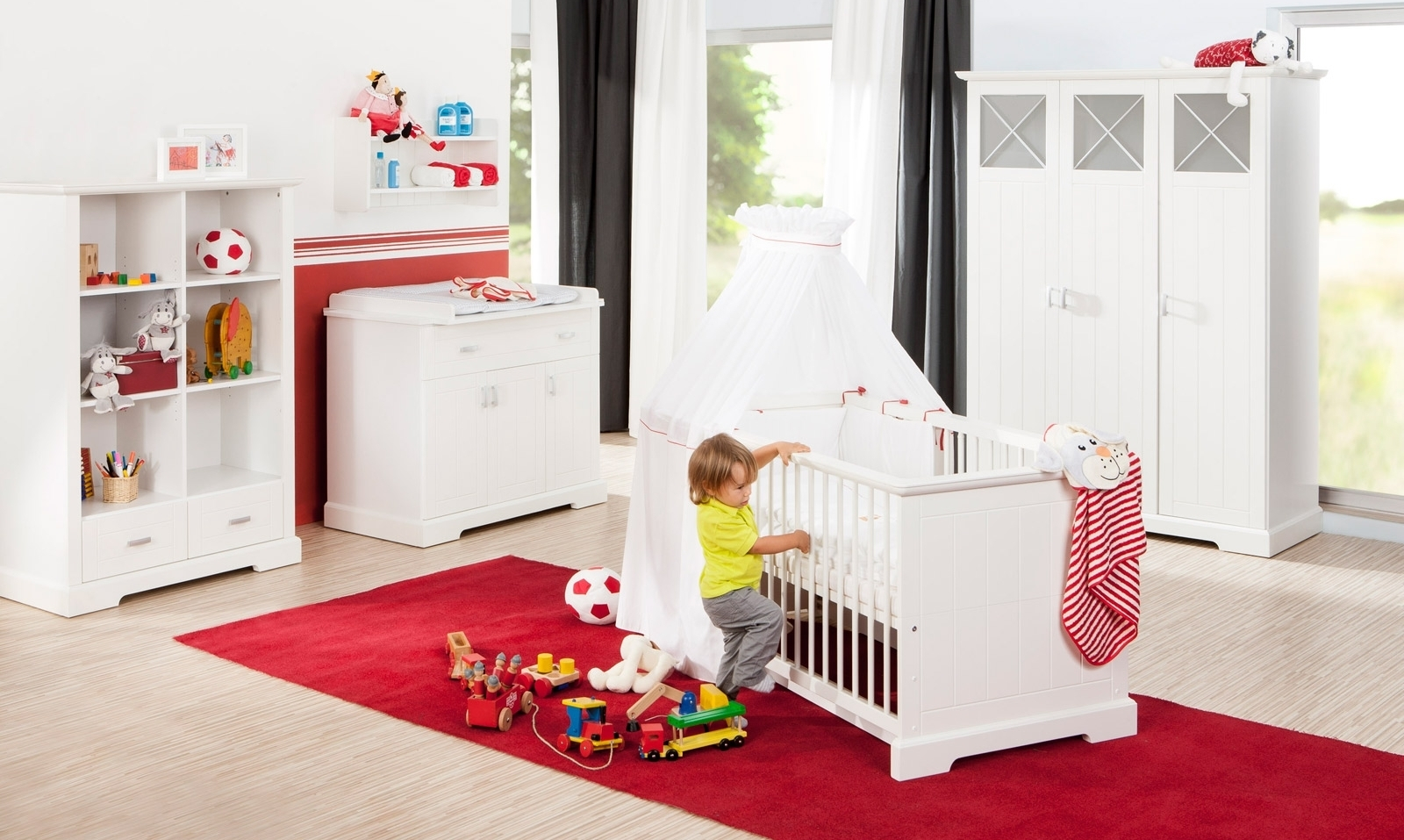 Chambre b b compl te lit et commode cassini geuther - Chambre bebe lit commode ...