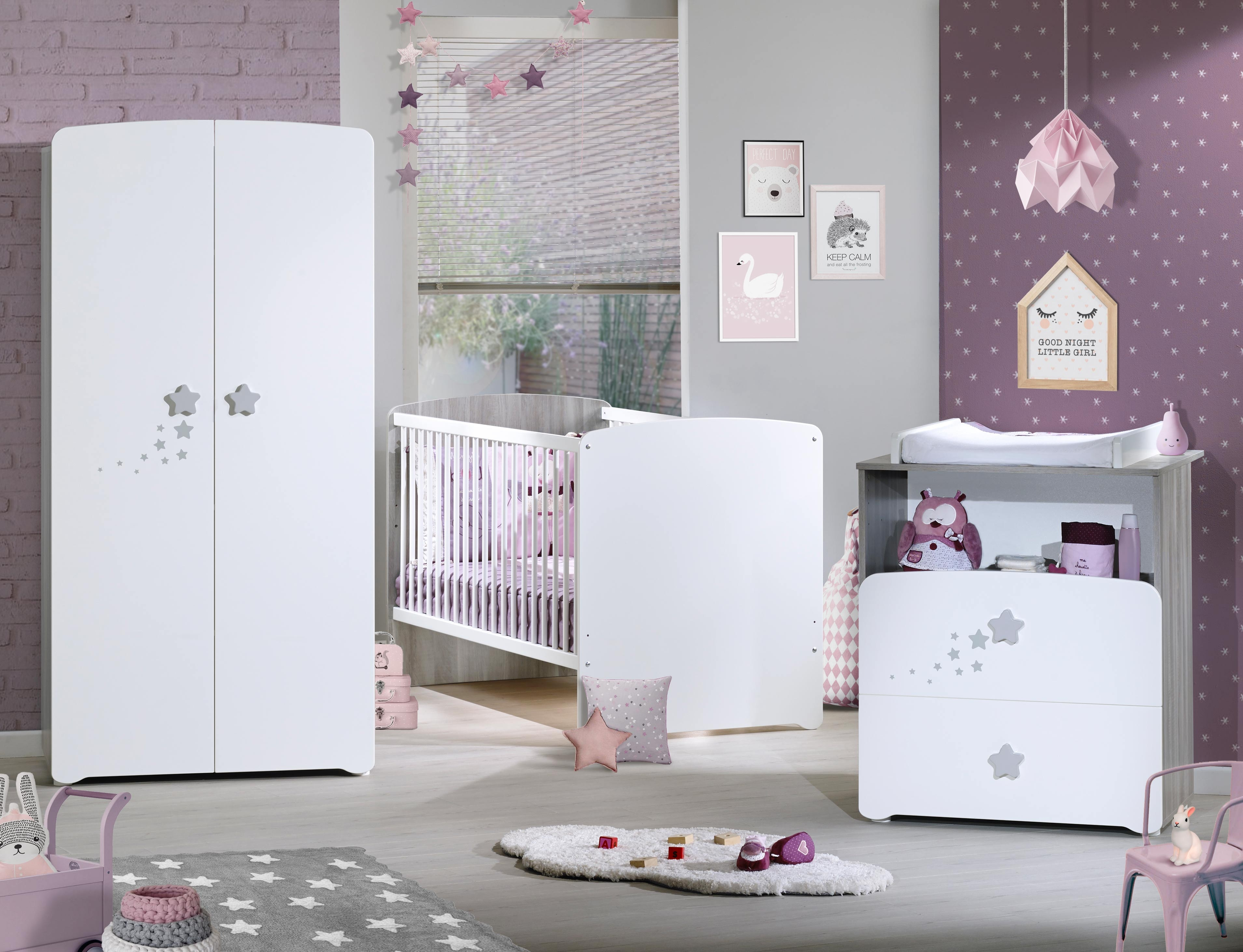 chambre bebe altea chambre enfant chne clairgris groove. Black Bedroom Furniture Sets. Home Design Ideas