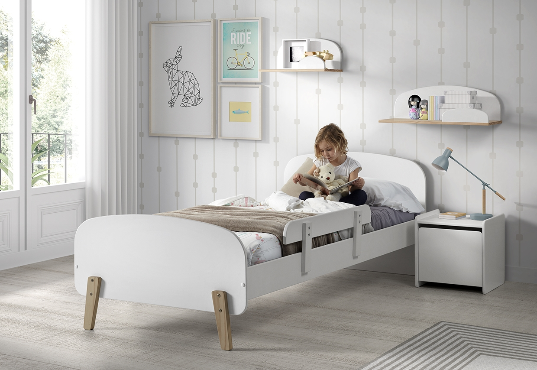 Chambre bois blanc Scandinave - LesTendances.fr