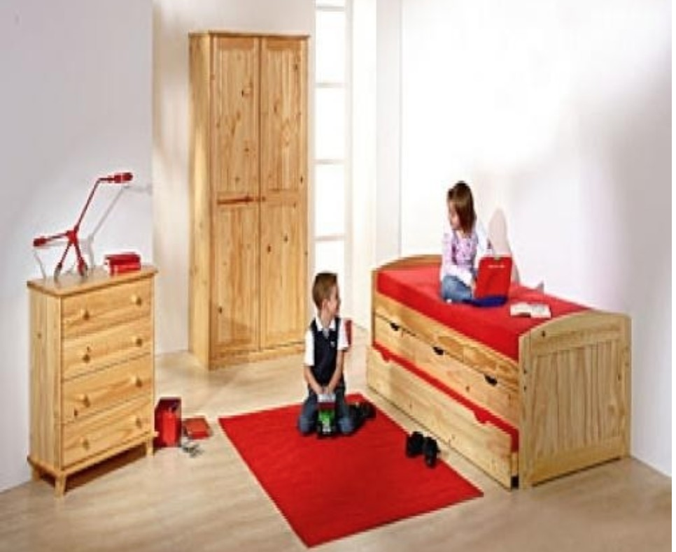 chambre pin massif marinella. Black Bedroom Furniture Sets. Home Design Ideas