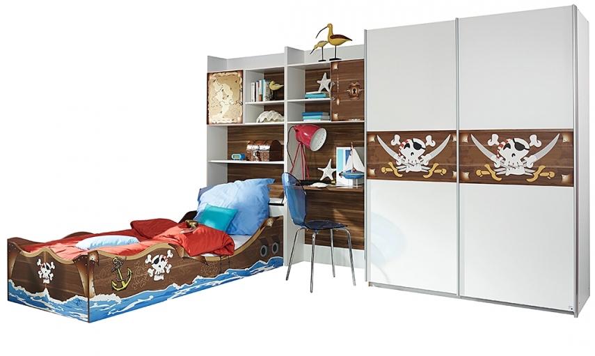 chambre pirate. Black Bedroom Furniture Sets. Home Design Ideas