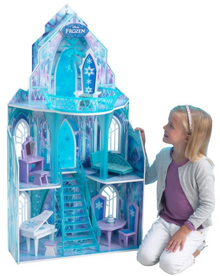 ch teau reine des neiges disney kidkraft 65881. Black Bedroom Furniture Sets. Home Design Ideas