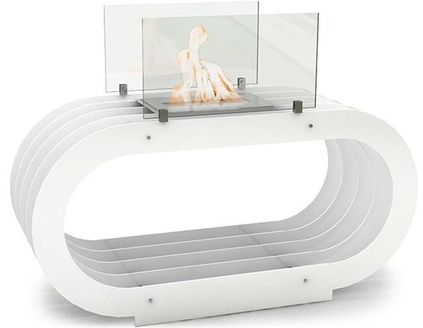 chemin e bio thanol de sol blanche milan vp fox010b. Black Bedroom Furniture Sets. Home Design Ideas