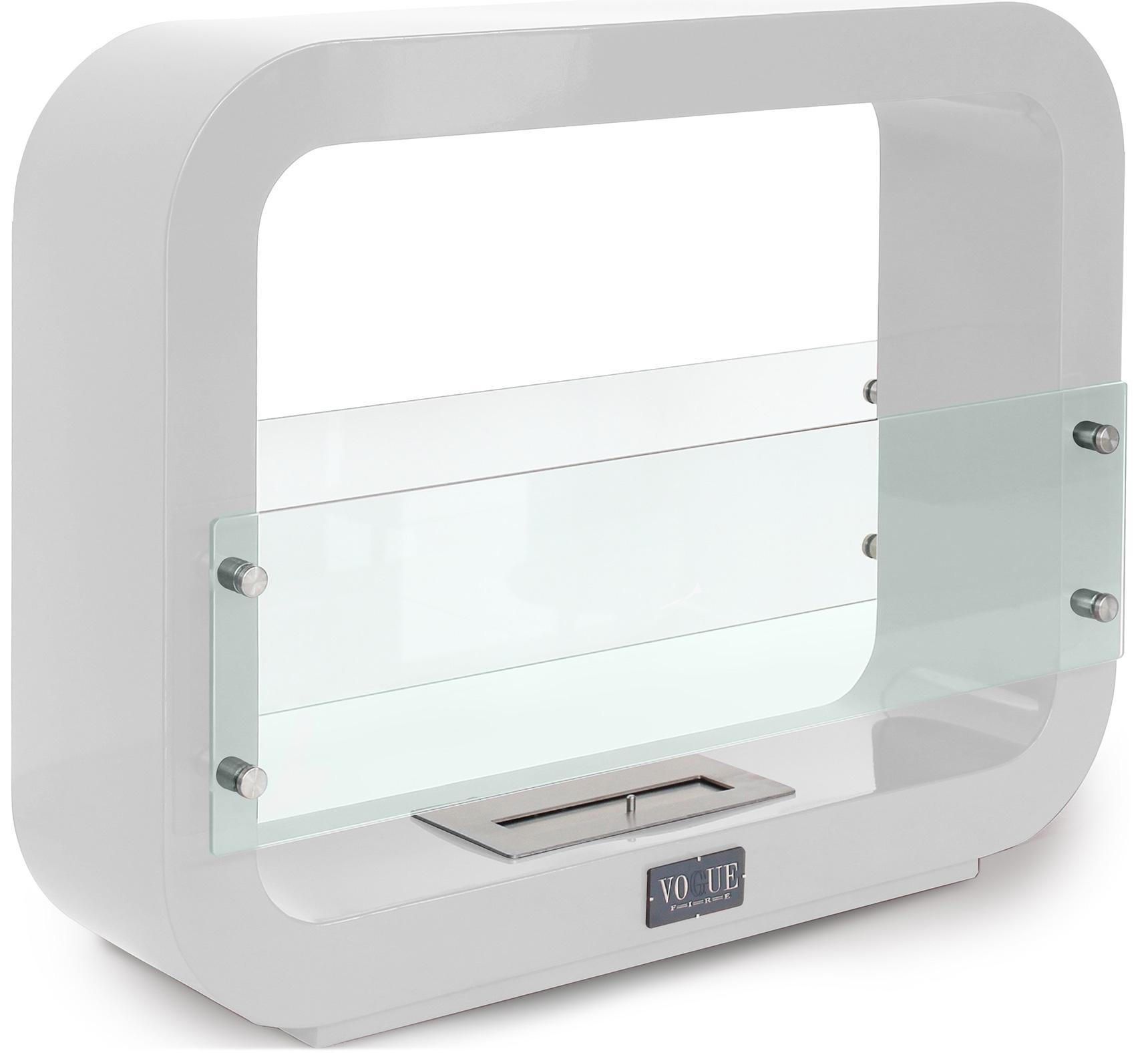 chemin e bio thanol de sol blanche vog83. Black Bedroom Furniture Sets. Home Design Ideas