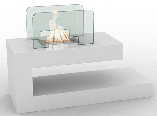 chemin e bio thanol de sol blanche vpf fd78. Black Bedroom Furniture Sets. Home Design Ideas