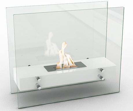chemin e bio ethanol de sol blanche vpf vg89. Black Bedroom Furniture Sets. Home Design Ideas