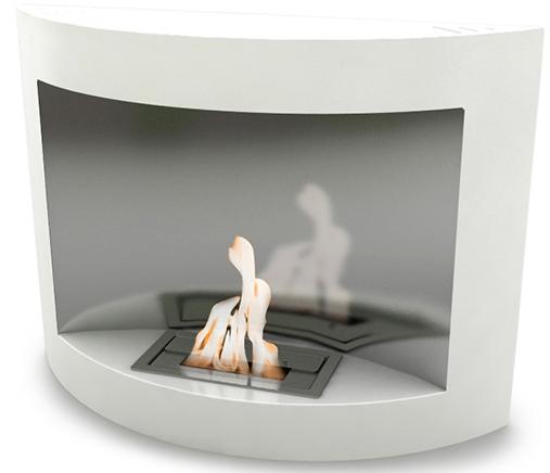 chemin e bio thanol murale blanche vpf ox 013w. Black Bedroom Furniture Sets. Home Design Ideas