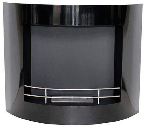 chemin e bio thanol murale noire vpf fd60. Black Bedroom Furniture Sets. Home Design Ideas