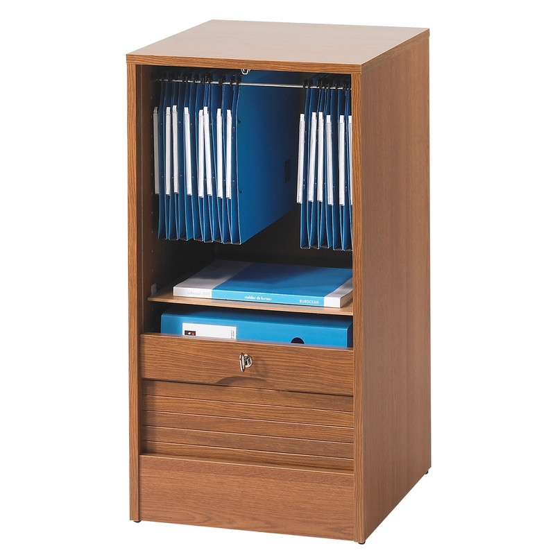 classeur de bureau rideau bois ch nes officia. Black Bedroom Furniture Sets. Home Design Ideas