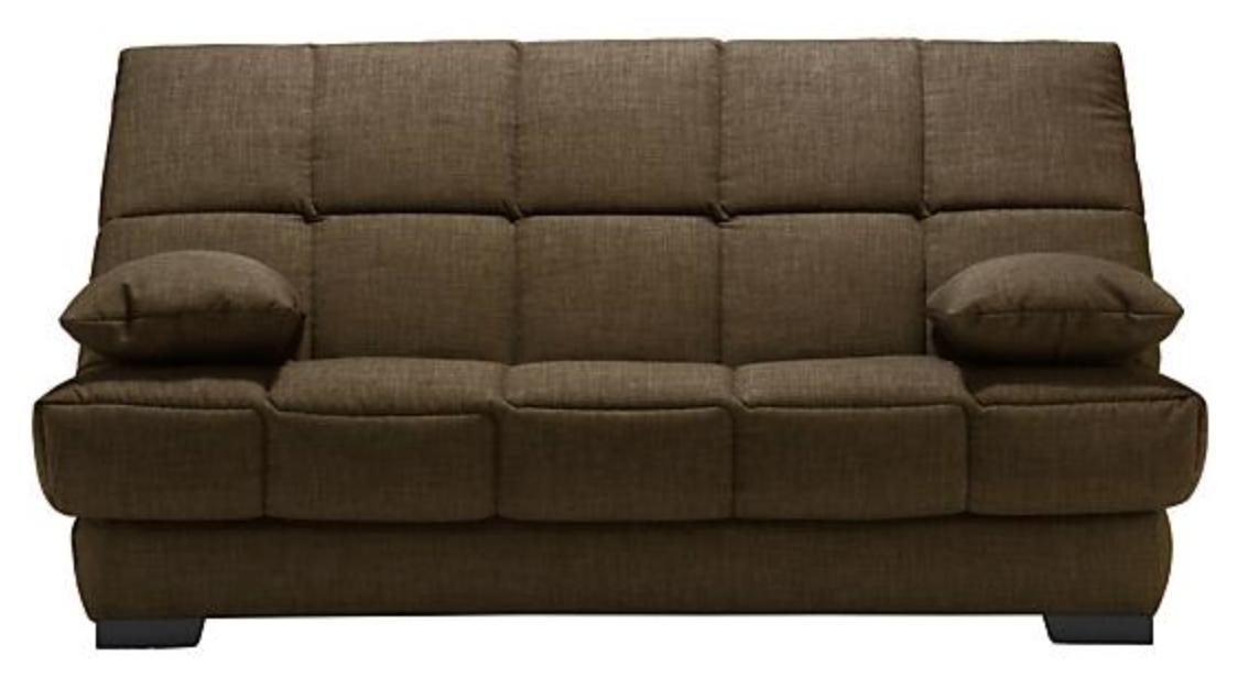 clic clac taupe matelas bultex 14 cm bangor. Black Bedroom Furniture Sets. Home Design Ideas
