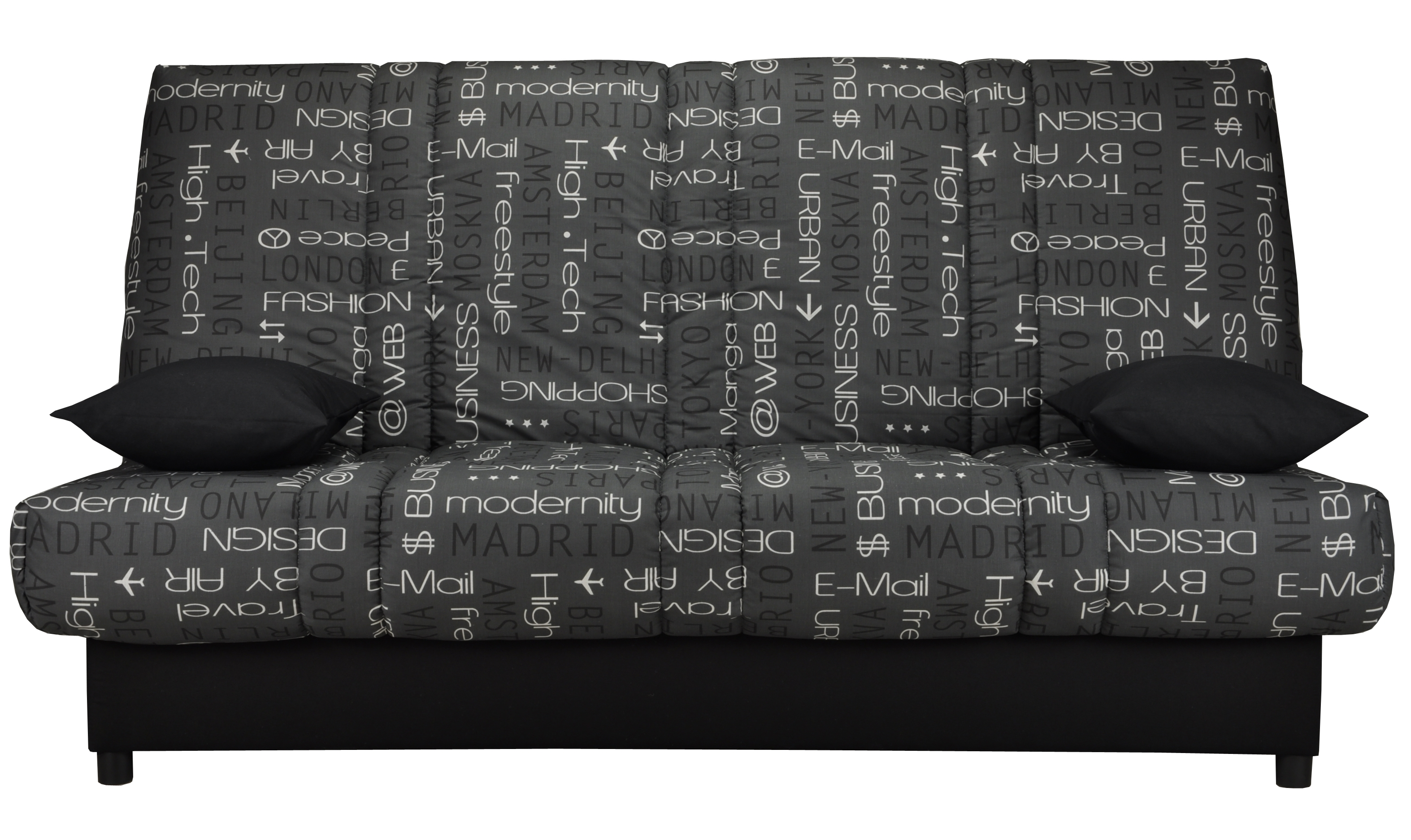 clic clac imprim matelas sofalex 11 cm gaby. Black Bedroom Furniture Sets. Home Design Ideas
