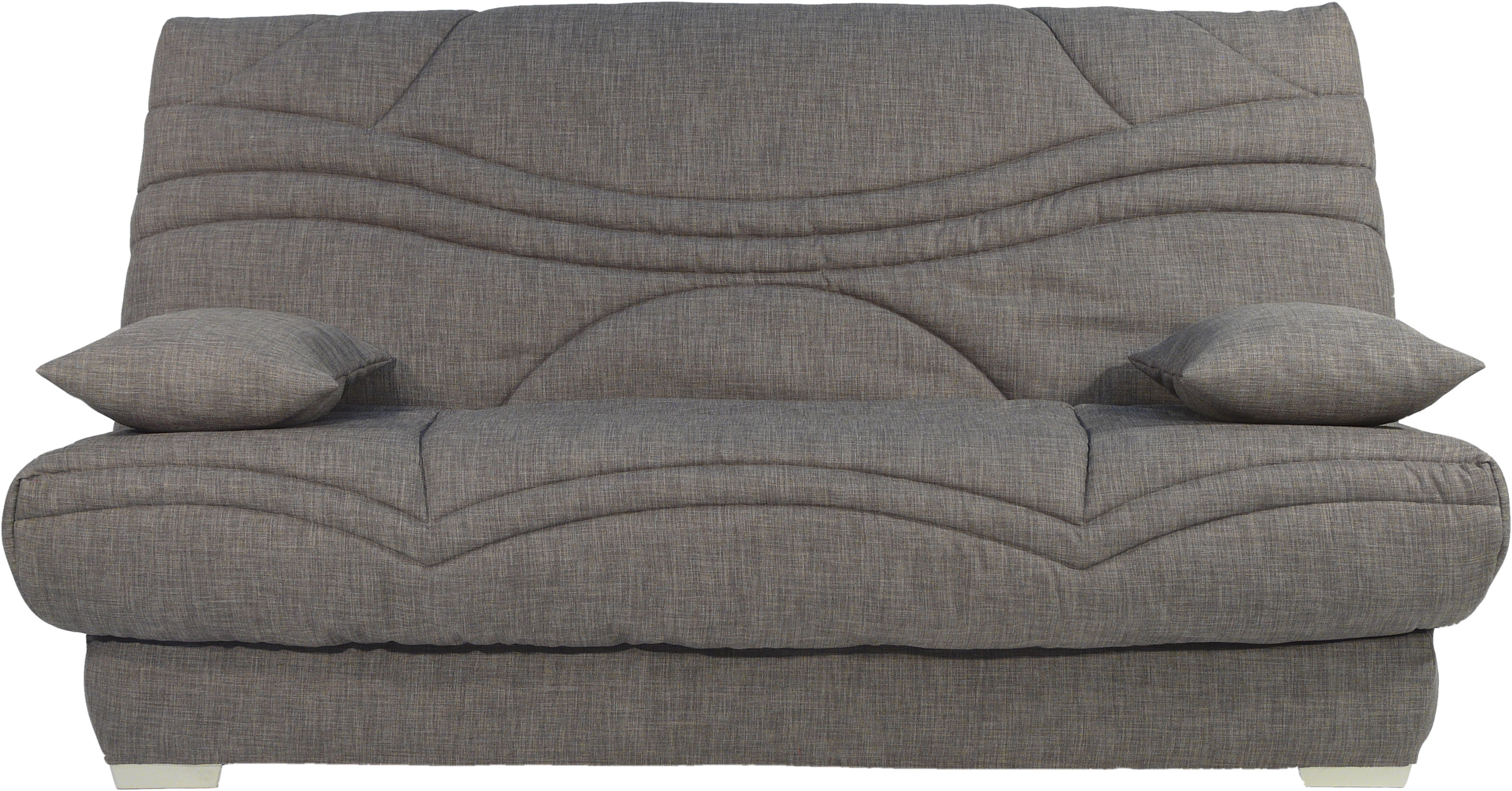 Clic clac gris fonc matelas sofaconfort 17 cm sadia - Matelas clic clac 130x190 ...
