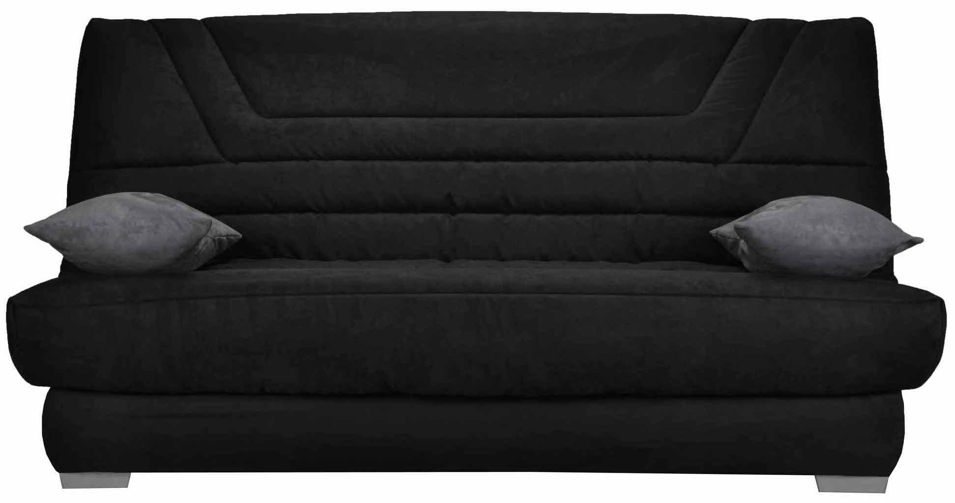 clic clac noir bari matelas bultex. Black Bedroom Furniture Sets. Home Design Ideas