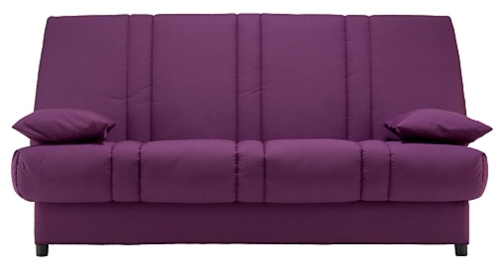 clic clac violet matelas sofalex 11 cm gaby. Black Bedroom Furniture Sets. Home Design Ideas