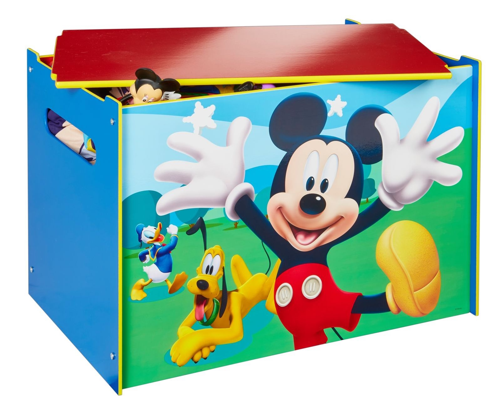 coffre jouets mickey. Black Bedroom Furniture Sets. Home Design Ideas