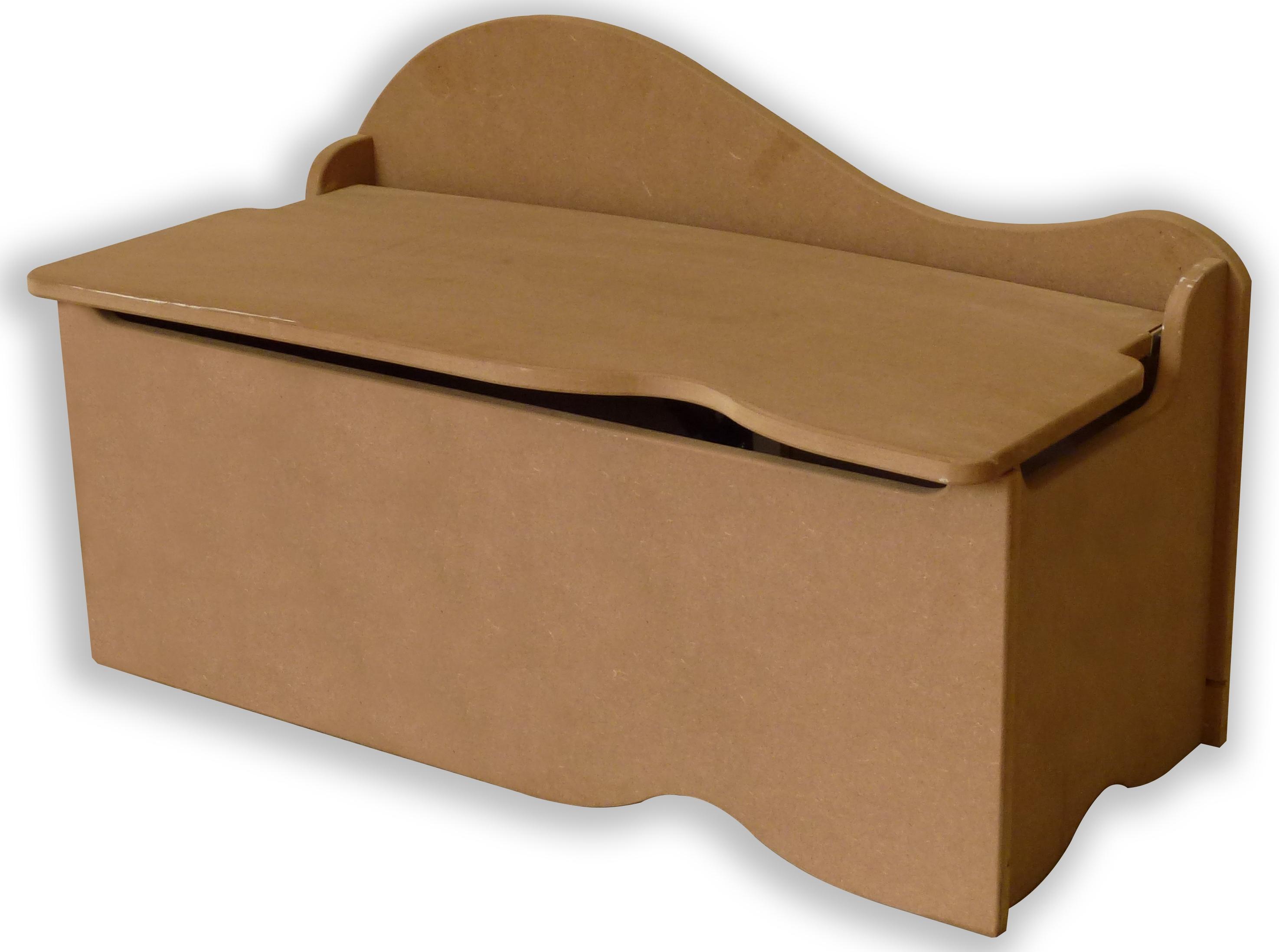 coffre de rangement bois brut spoon. Black Bedroom Furniture Sets. Home Design Ideas
