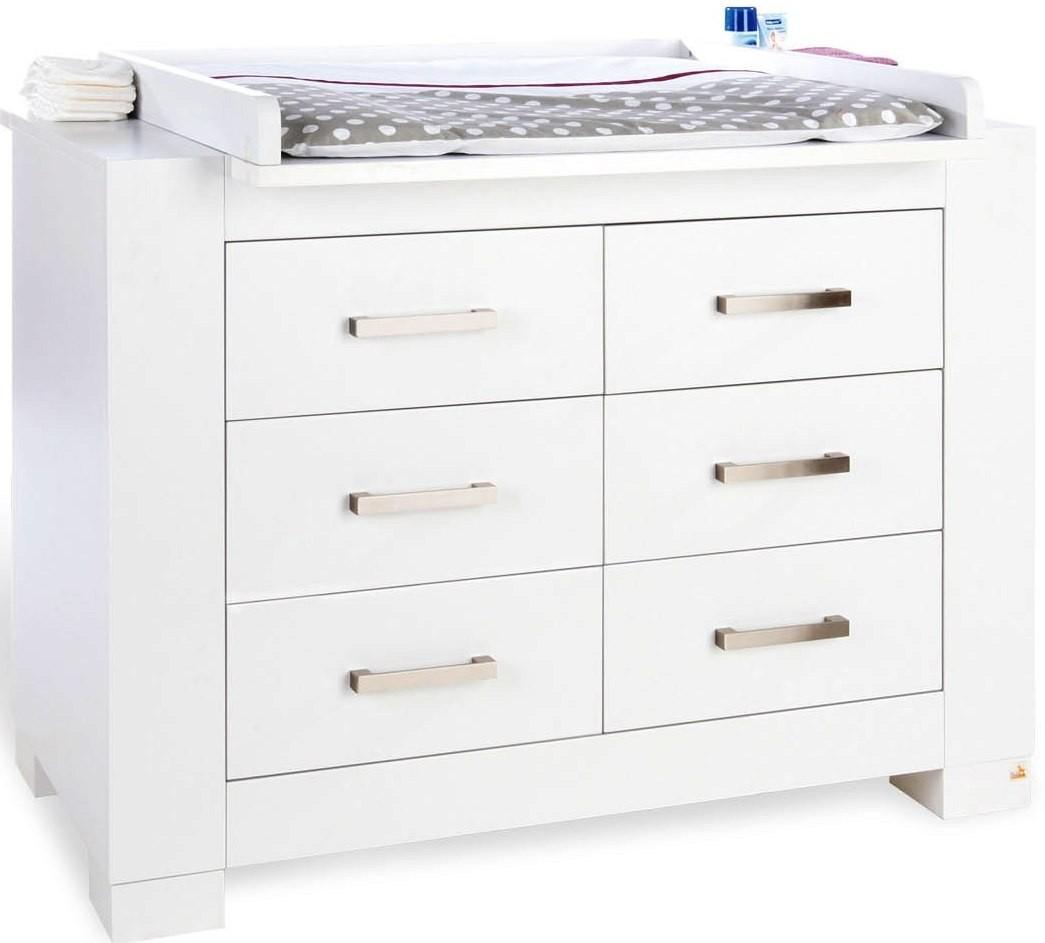 commode langer blanche ice. Black Bedroom Furniture Sets. Home Design Ideas