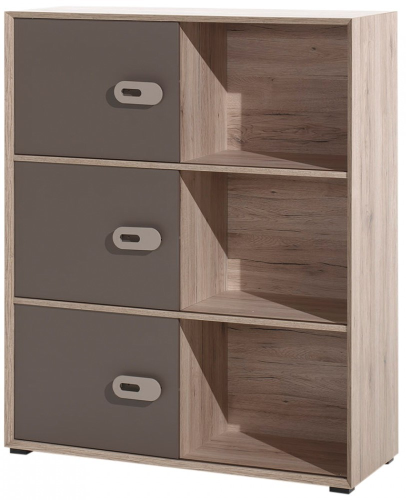 commode bois clair et marron foresta. Black Bedroom Furniture Sets. Home Design Ideas