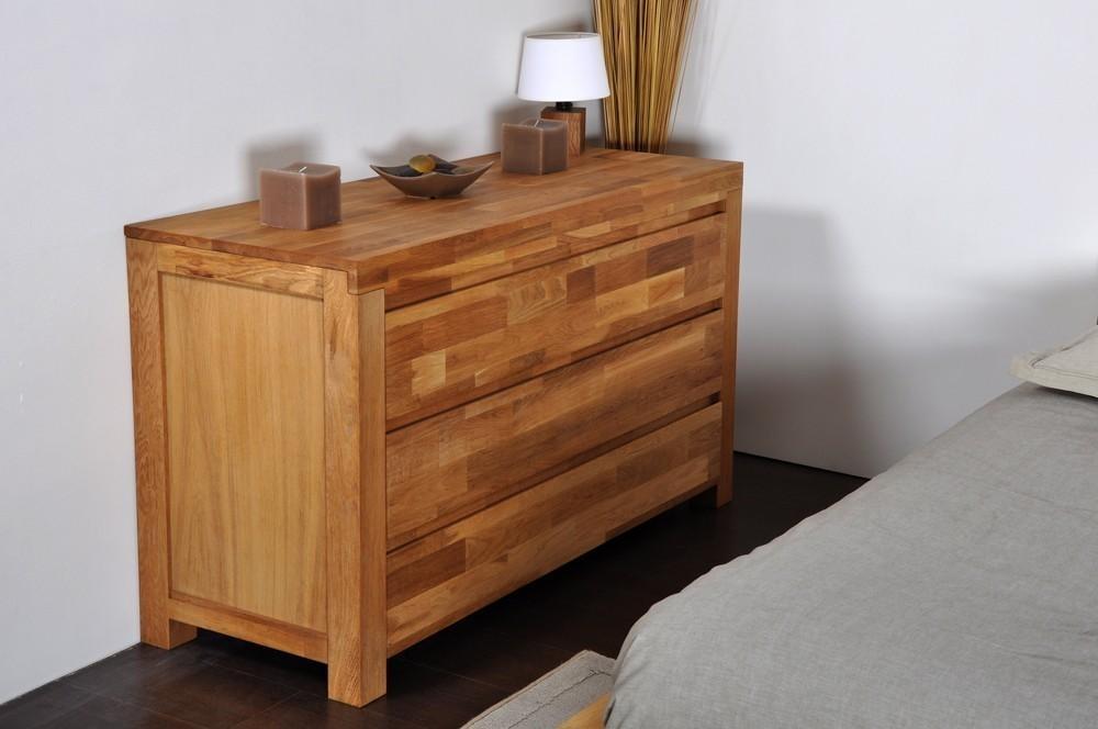 commode en ch ne oak. Black Bedroom Furniture Sets. Home Design Ideas