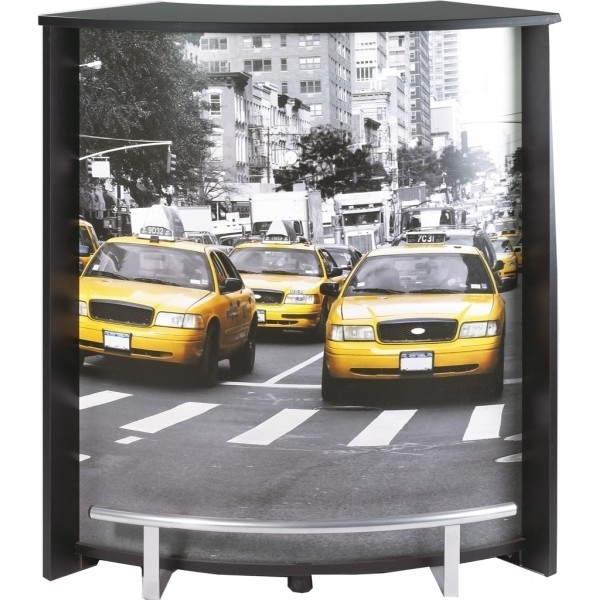Comptoir de bar taxi jaune new york - Rideau new york taxi jaune ...