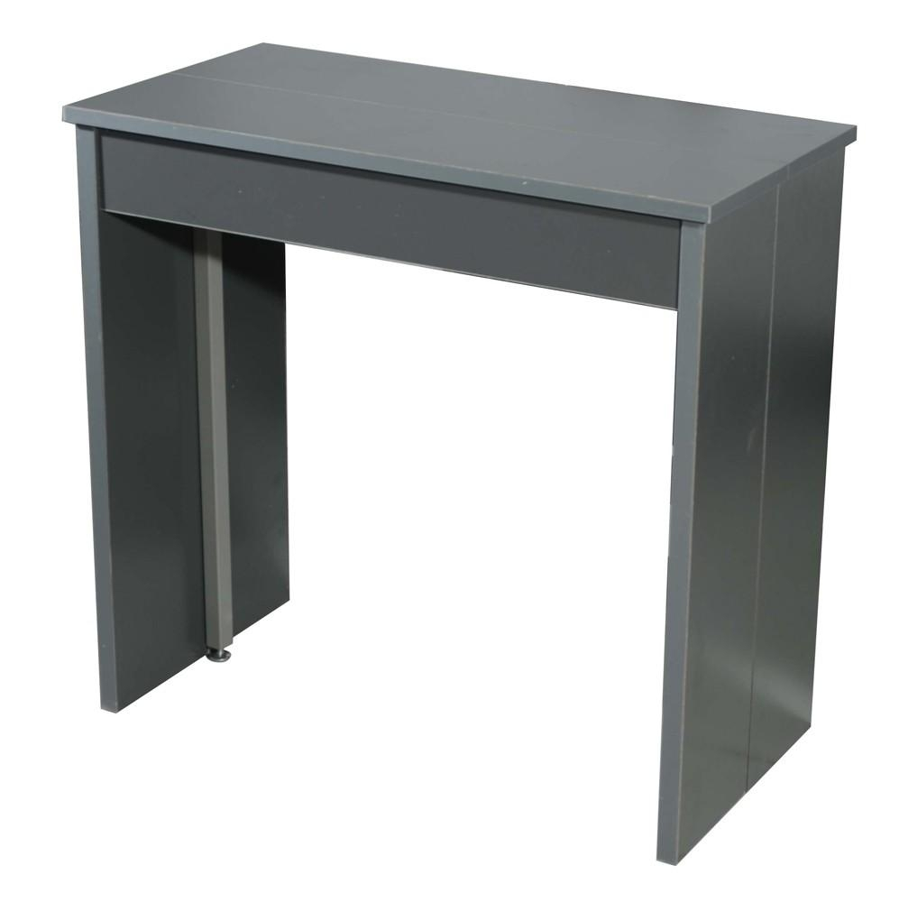 Console extensible grise combi 145 for Table extensible gris clair