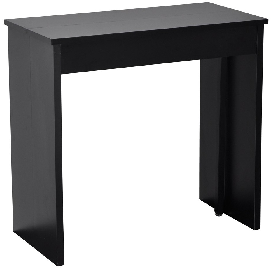 console extensible noir combi 145. Black Bedroom Furniture Sets. Home Design Ideas