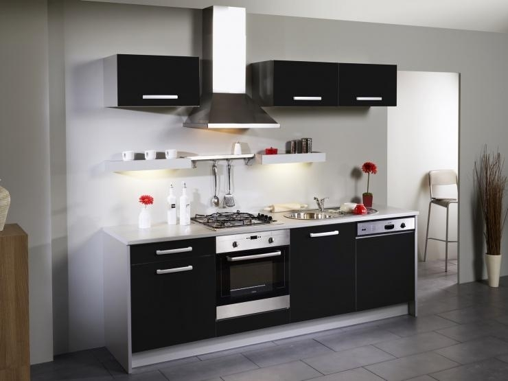 cuisine compl te noir moderne simply
