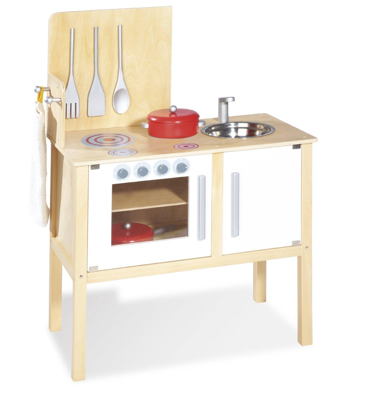 cuisine enfant tilleul massif et bois laqu clair et blanc jette. Black Bedroom Furniture Sets. Home Design Ideas