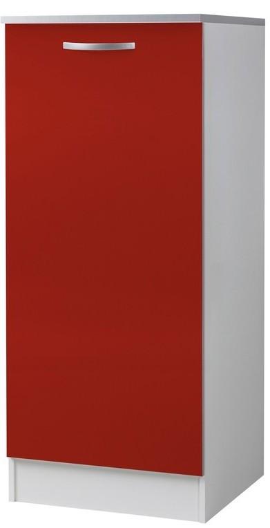 demi colonne de cuisine 1 porte rouge viva. Black Bedroom Furniture Sets. Home Design Ideas