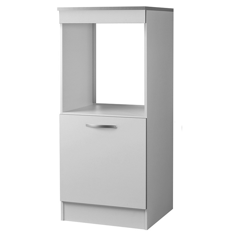 demi colonne de cuisine four 1 porte blanc viva. Black Bedroom Furniture Sets. Home Design Ideas